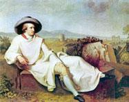 Tischbein - Goethe in Italy