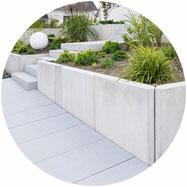Gartenneugestaltung, Gartenbau