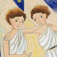 「冬の星座のギリシャ神話」