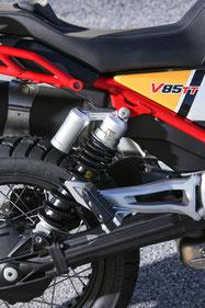Moto Guzzi V85 TT Monoshock Federbein mit Druck und Zugstufenverstellung