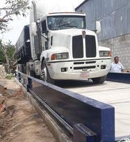 báscula para camiones publica