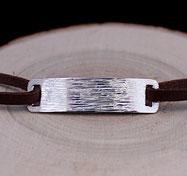 Collection de bracelets pour hommes en argent, jeu de textures et de motifs