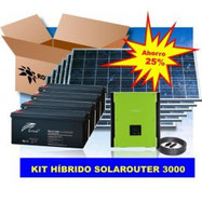 Kit Fotovoltaico Híbrido