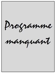 Programme  1er Gol de Letra à Levallois  2002-03