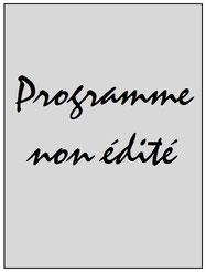 Programme  PSG-Jazz Pori  2001-02