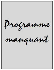 Programme  Sedan-PSG  2002-03