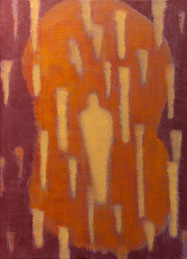 The scope.4   oil on canvas 33.3×24.2cm