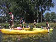 canoe kayak rafting somme picquigny centres de loisirs anniversaires