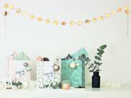 BIld: DIY Geschenk Idee für Advent und Weihnachten, Advent und Weihnacht in der Tüte, to-go, mit Freebie Bastelvorlage