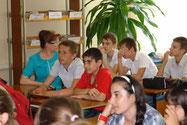 """Встреча со школьниками в """"День семьи"""" 15 мая 2013 г."""