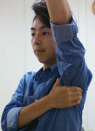 肩コリでリンパが腫れた奈良県御所市の整体師