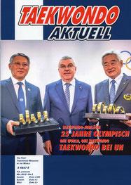 "Das Buch ""DER WEG IM KREIS DES TIGERS"" im Magazin TAEKWONDO AKTUELL"