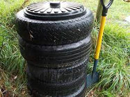 made using car tyres