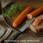 teewurst mettwurst appetiter