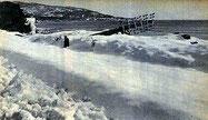 côte varoise 60 cm de neige (meteo-Paris)