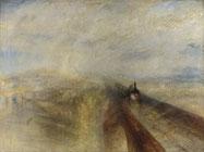 Turner, Pluie, vapeur et pluie, 1844.