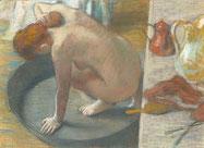 Degas, Le Tub, 1886.