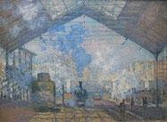 Monet, Gare Saint Lazare, 1877.