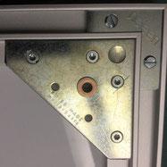Robuster Bildaufhänger metall kaufen: 60 x 60 x 1,5 mm mit Tubtara M4