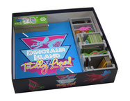 folded space insert organizer dinosaur island Totally Liquid Extreme Edition