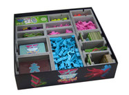 folded space insert organizer dinosaur island Totally Liquid Extreme Edition