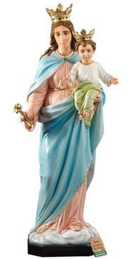 statua Maria Ausiliatrice in vetroresina cm. 160
