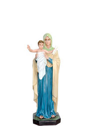 statua madonna regina degli apostoli