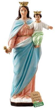 statua Maria Ausiliatrice in resina cm. 62