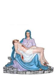 statua madonna pietà michelangelo