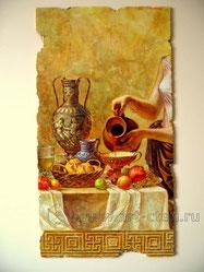 Состаренная фреска.