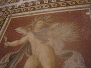 l'été, partie de l'immense mosaïque des 4 saisons, provenant de palais de riches romains
