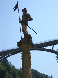 au pied du pont de Zaehringen