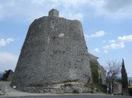 le donjon (19 m de haut) et sa tour de guet