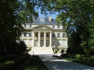 chateau Margaux, conçu par Combes, architecte du Grand Théâtre de Bordeaux