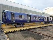 Minimaler Verzug durch Rührreibschweißen bei der British-Rail-Klasse 835