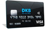 DKB VISA Kreditkarte mit DKB-Cash Konto