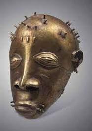 Tête en bronze Akan