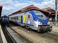 フランスのTER-地域内列車