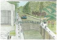 ②ニューリー・プレザンスのマルヌ川水門