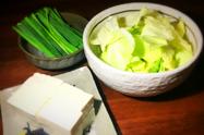 野菜トッピング