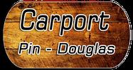 carport bois pin douglas dordogne aquitaine