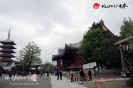 〈浅草・浅草神社 鳥居前〉2014.04.18
