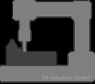 C-Gestell, offene Bauweise, CNC-Fräse, Varianten, Fertigungsverfahren, Tilt Industries