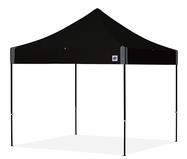 ez-up tent, tent, black tent