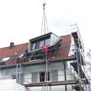 esp-architekten, Fertigteilgaube, Dachgeschossausbau,