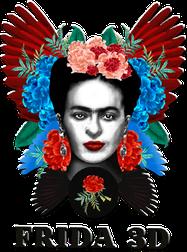 Frida 3D logo