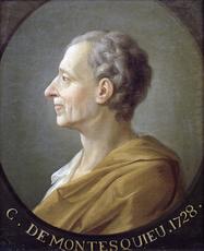 Montesquieu en 1728 (peinture anonyme). Source : Wikipedia, Domaine public.
