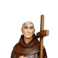 statua san padre ludovico da casoria