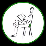 Icon Verwendung der Besten Lendenpolster