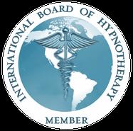 Mitgliedschaft Logo  des International Board of Hypnotherapie USA